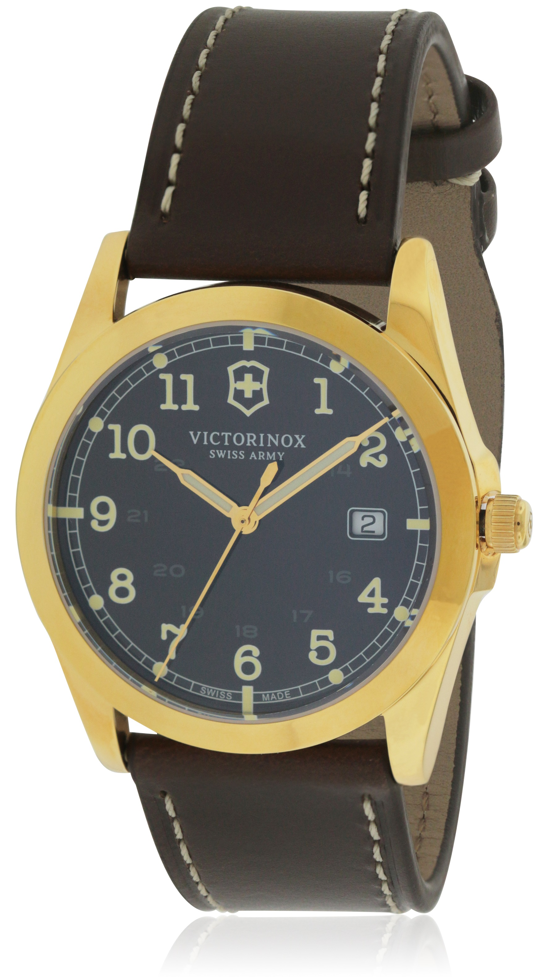 Swiss-Army-Victorinox-Infantry-Leather-Mens-Watch-241645