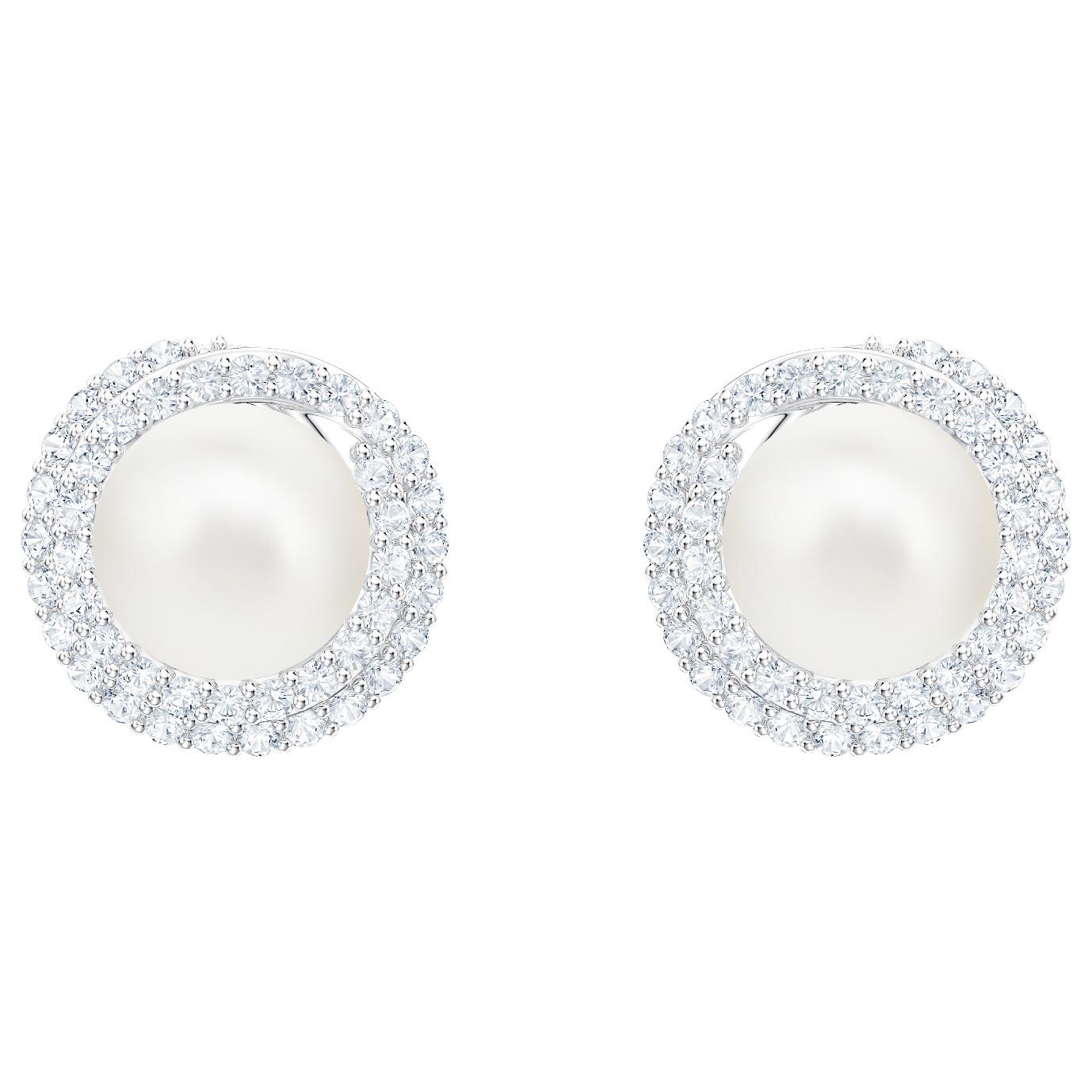 Swarovski Originally Pierced Earring Studs Cry Czwh Rhs 5461087