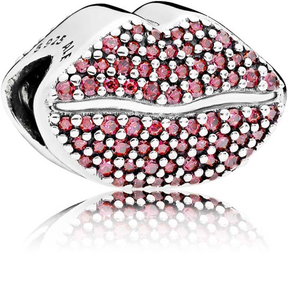 charm pandora kiss