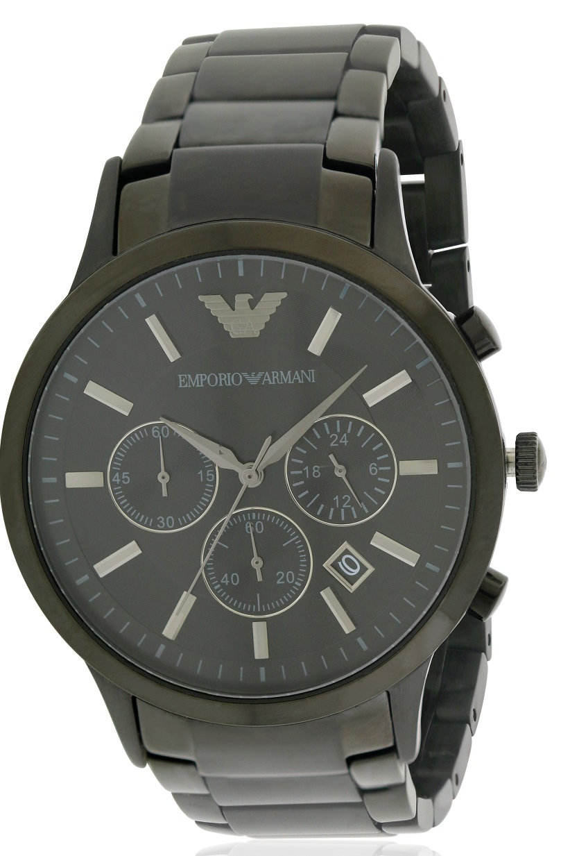 Chronograph | Stainless | Watch | Steel | Black | Men