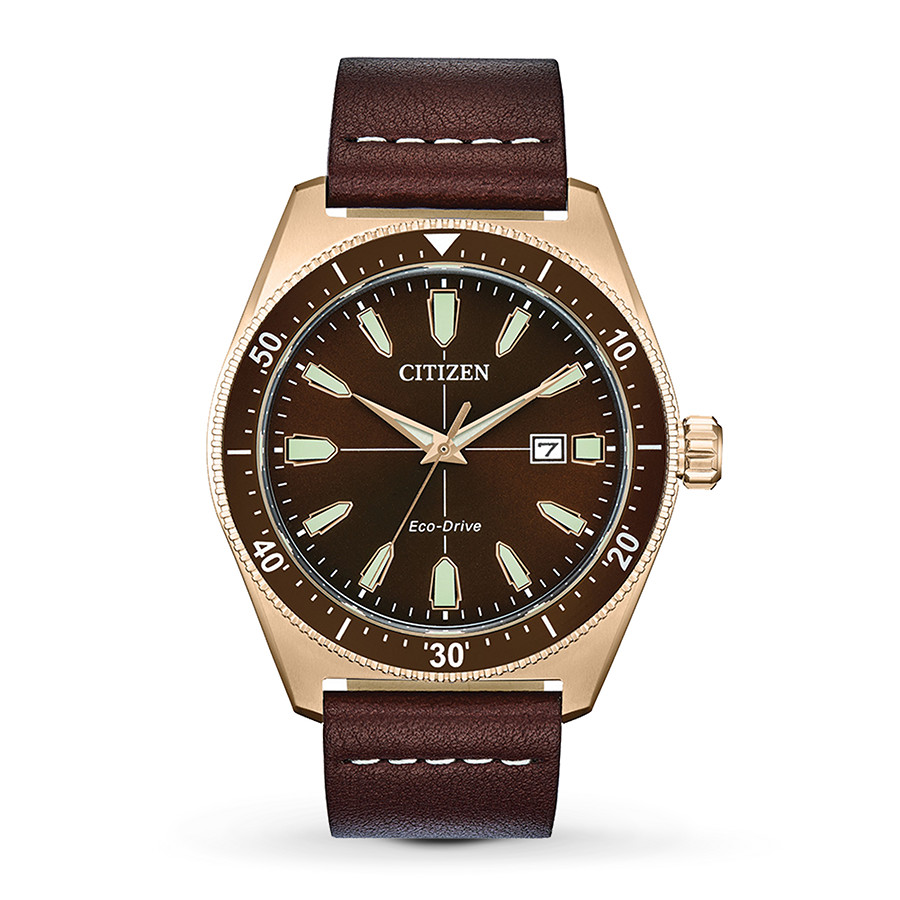 Citizen Eco-Drive Brycen Vintage Mens Watch AW1593-06X