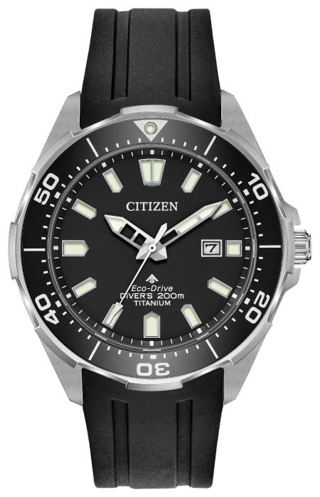 Citizen Eco-Drive Promaster Titanium Black Mens Watch BN0200-05E