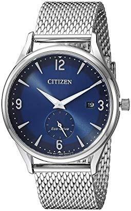 Citizen BTW Blue Dial Mens Watch BV1110-51L