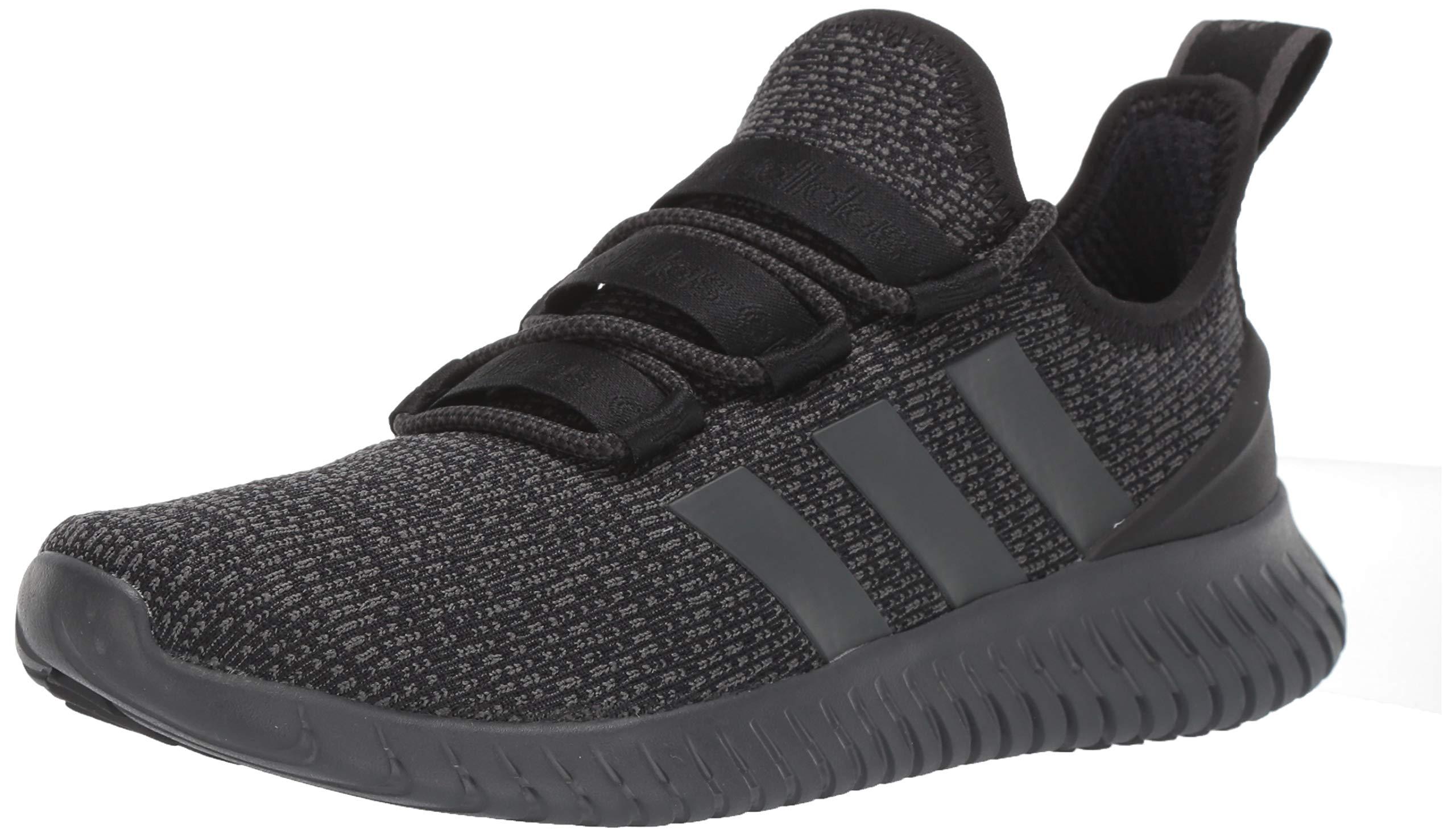 Details about adidas Mens Kaptir Running Shoes - Black Grey - 11
