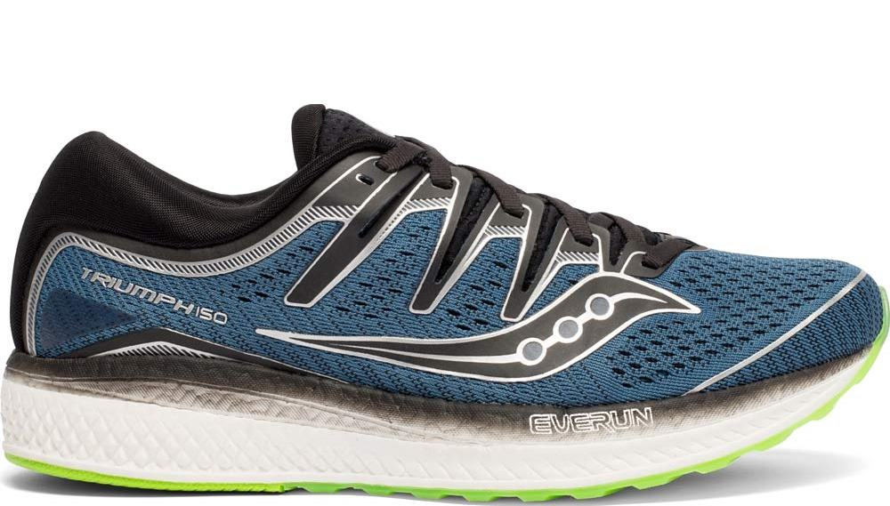 Saucony Triumph ISO 5 Mens Sneaker - Steel/Black - 11