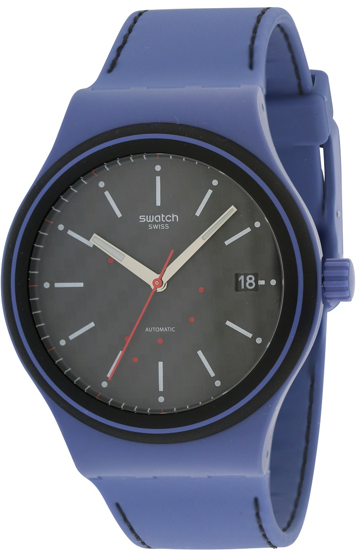sistem aqua silicone automatic mens watch sutn402